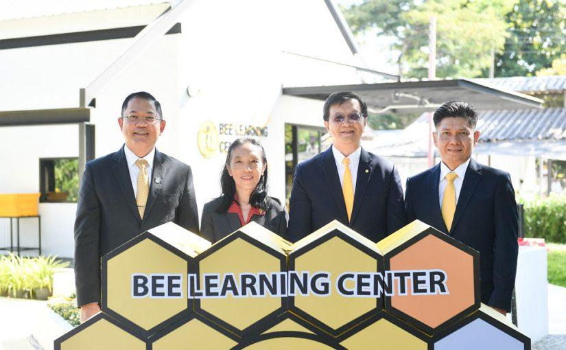 """""""Bee Learning Center"""" ศูนย์เรียนรู้เกี่ยวกับผึ้ง แห่งแรกของเอเชีย ณ ม.เกษตรฯ"""